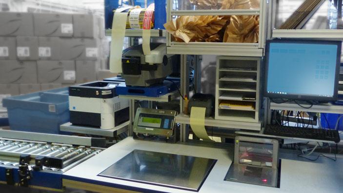 Maßgeschneiderter Druckerbereich