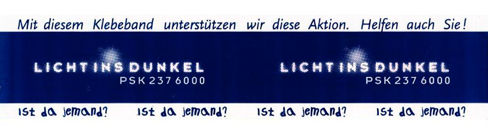 1998 - Soziales Engagement bei Licht ins Dunkel
