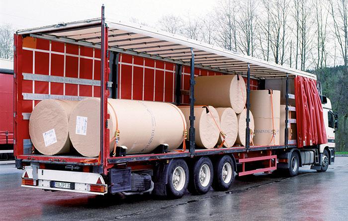 Ladungssicherung - LKW Anwendung Zurrgurte