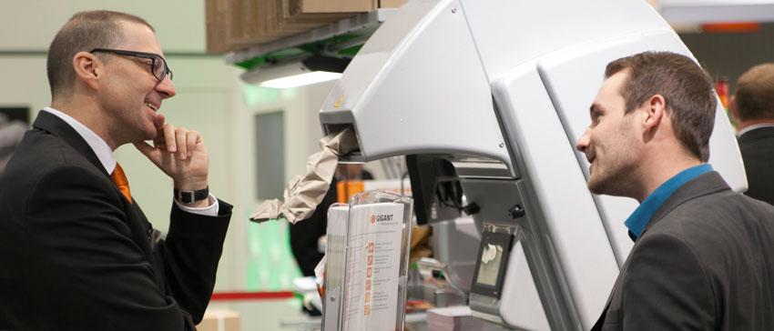 Rupert Melkus, Projektleiter bei Gigant Verpackungstechnik