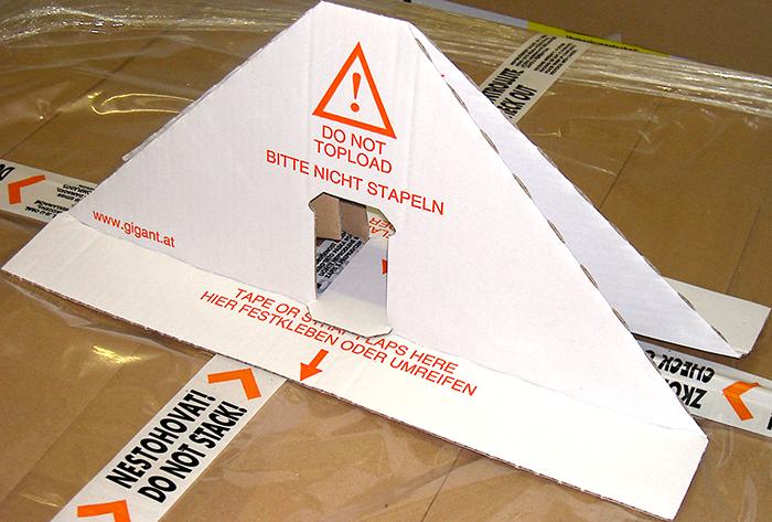 GIGANT Palettensicherung Palettenhut