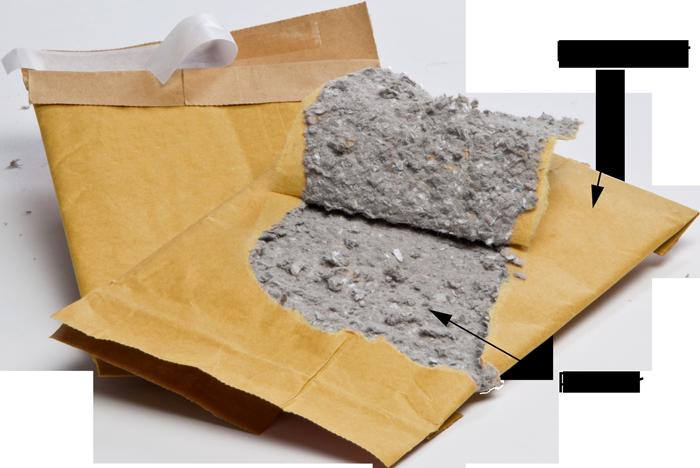 GIGANT Papierpolstertaschen Jiffy detail