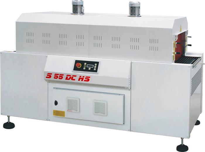 Zweikammer Hochgeschwindigkeit-Schrumpftunnel S55DCHS/S85DCHS