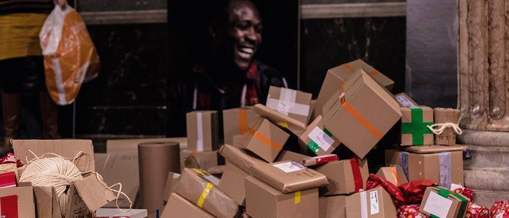 Ute Bock BockBoxen: Geschenke für Flüchtlingskinder