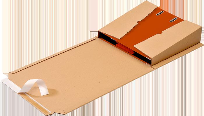 GIGANT Versandverpackung OrdnerPac Anwendung