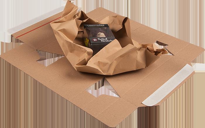 GIGANT Versandverpackung PaperPac Anwendung
