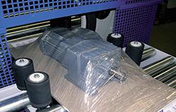 GIGANT Tray Wickelmaschine TVP-45 - Anwendung